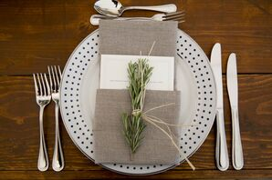 Rustic Place Settings