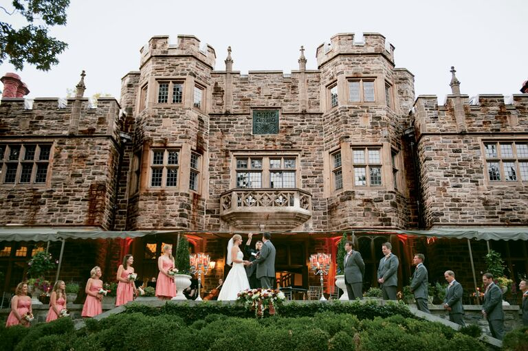 The Castle at Maryvale in Brooklandville, MD wedding venue
