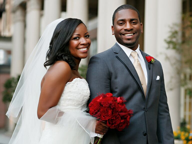 Georgia bride and groom