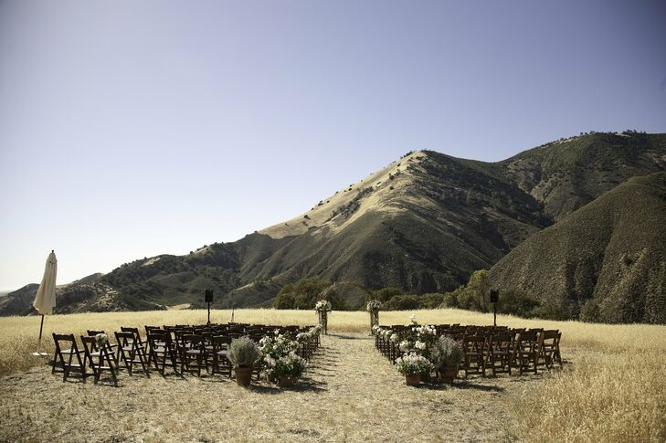 Scenic Mountainside Ceremony Site