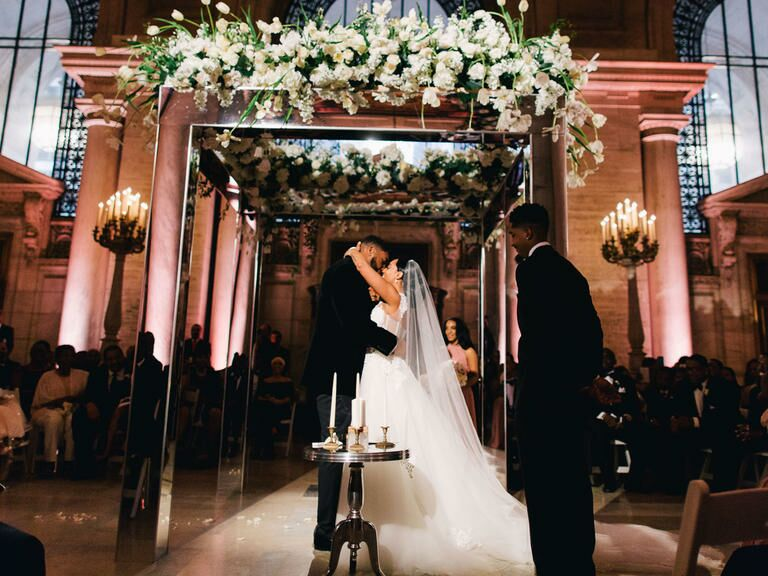 The Knot Dream Wedding 2016 At New York Public Library In City