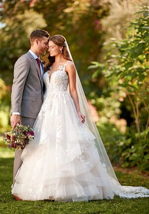 Essense of Australia D3088 A-Line Wedding Dress