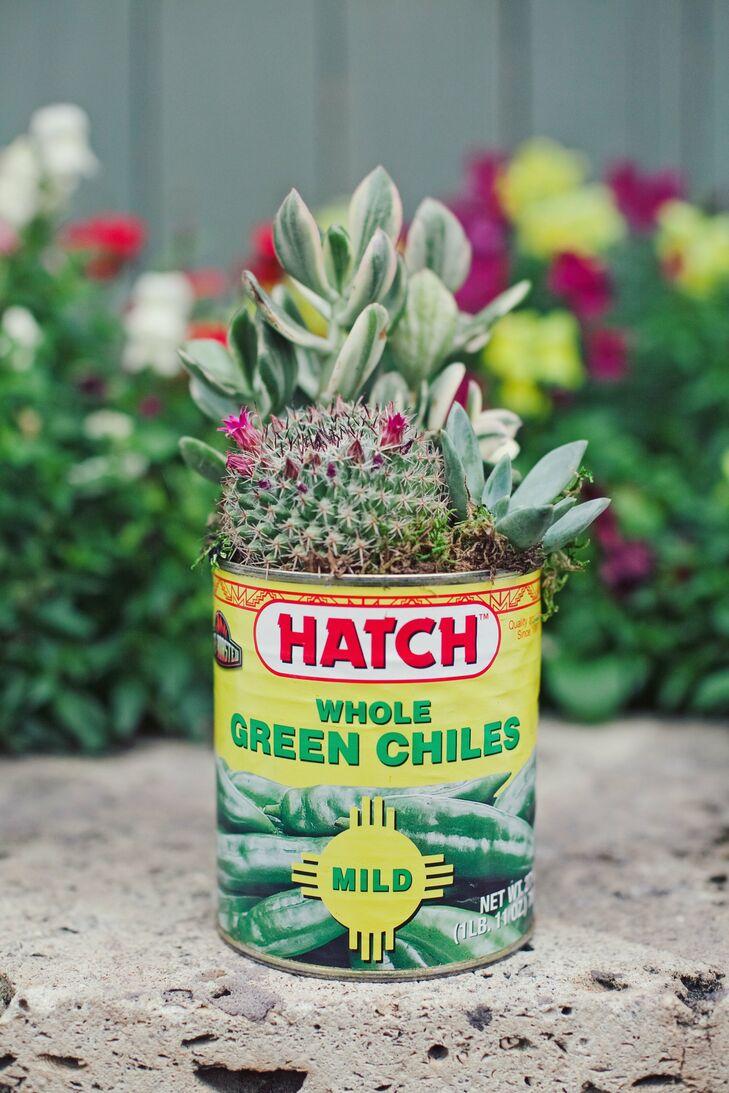 Cactus and Succulent Centerpieces