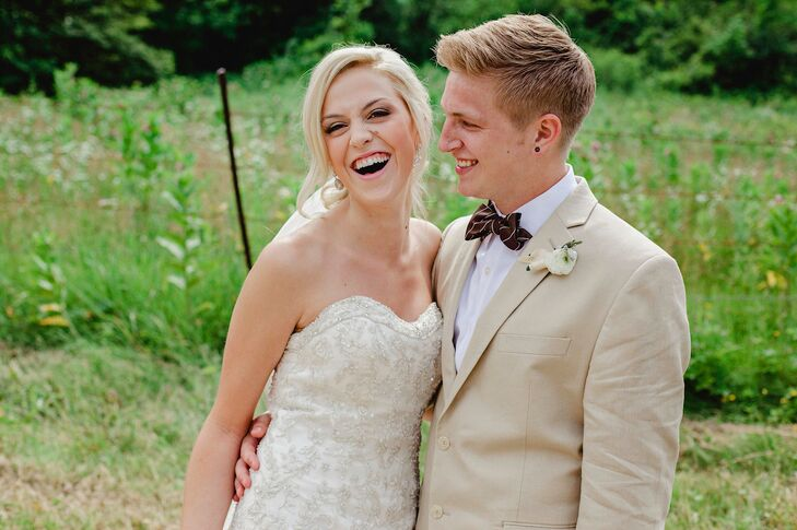 Melissa Swanson (18 and a graphic design student) and Joel Schuenson (19 and a nursing student) met for the first time through a