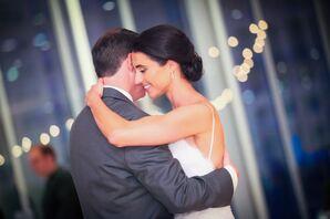 Romantic Classic Bridal Bun Updo