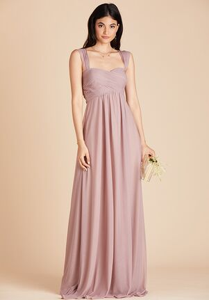 Birdy Grey Maria Convertible Dress in Mauve Sweetheart Bridesmaid Dress