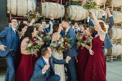 Flowing White Wedding & Event Coordination
