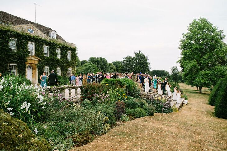 Garden Cocktail Hour at Cornwell Manor