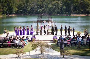 Wedding reception venues in atlanta ga the knot pristine chapel lakeside junglespirit Gallery