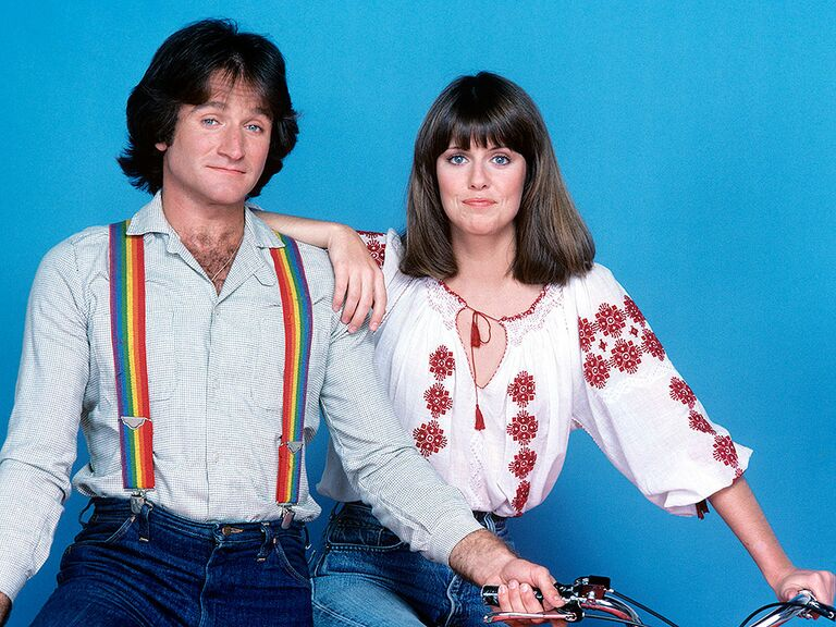 Mork and Mindy famous tv couples