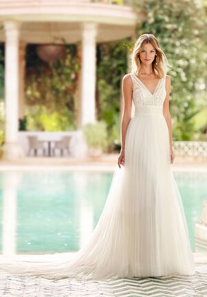 Rosa Clará Soft RAYEL A-Line Wedding Dress