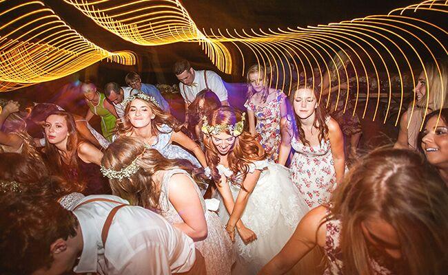 Audrey Roloff dances at her wedding