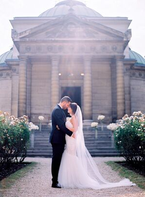 Intimate, Elegant Ceremony at French Chapel