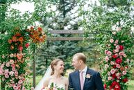 As residents of New York, Molly Dulin and Blake Daniel planned a colorful, preppy destination wedding in Colorado (where the bride grew up). They inco
