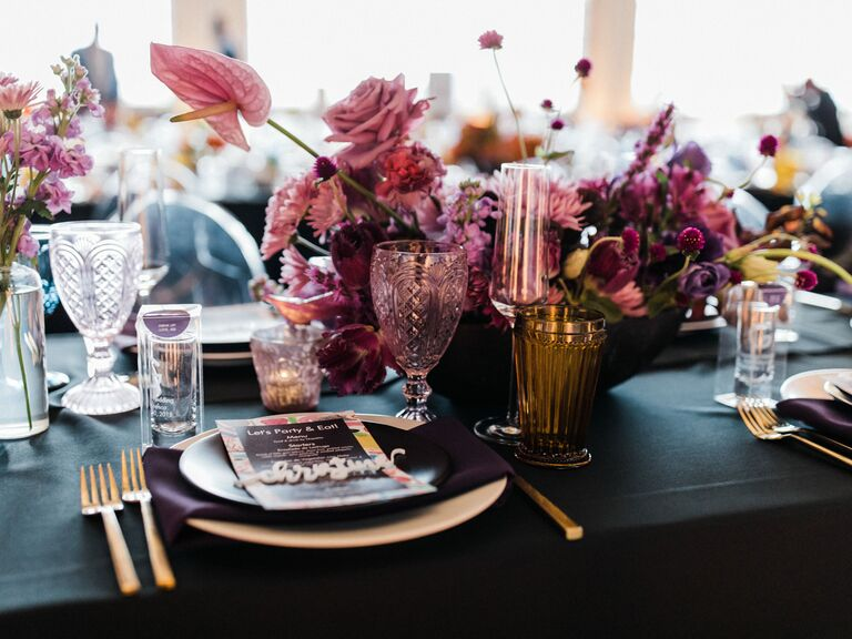 Wedding Centerpieces Monochrome
