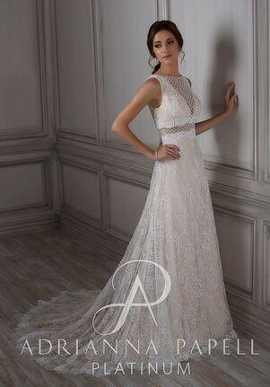 Adrianna Papell Platinum Ida A-Line Wedding Dress