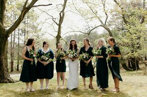 Wedding Party at Watervale Inn in Northern Michgan