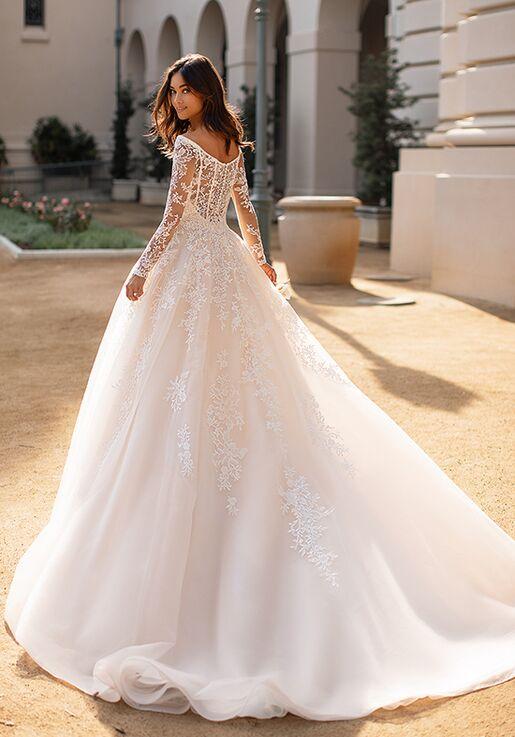 Moonlight Collection J6749 A-Line Wedding Dress