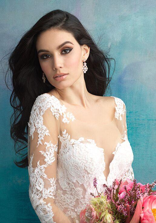 Allure Bridals 9506 Sheath Wedding Dress