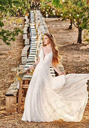 All Who Wander Regan A-Line Wedding Dress