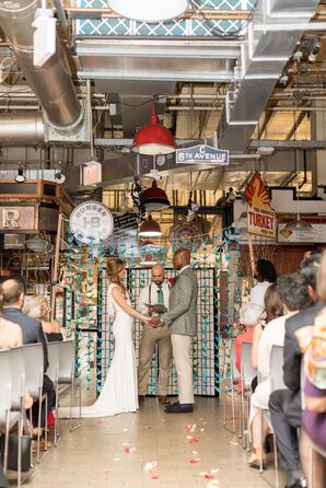 Personalized Ceremony Décor at Reading Terminal Public Market