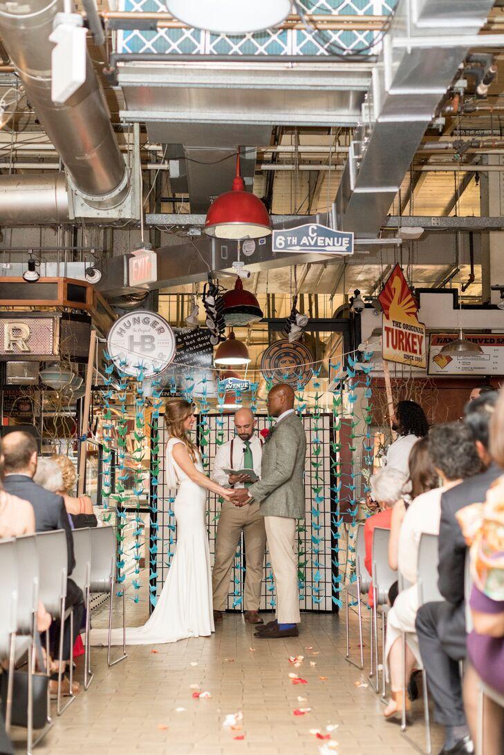 Personalized Ceremony Décor at Reading Terminal Public Market