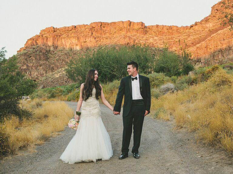 Idaho Desert Wedding