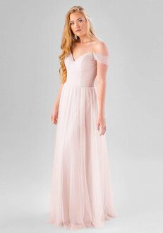 Kennedy Blue Cora Off the Shoulder Bridesmaid Dress