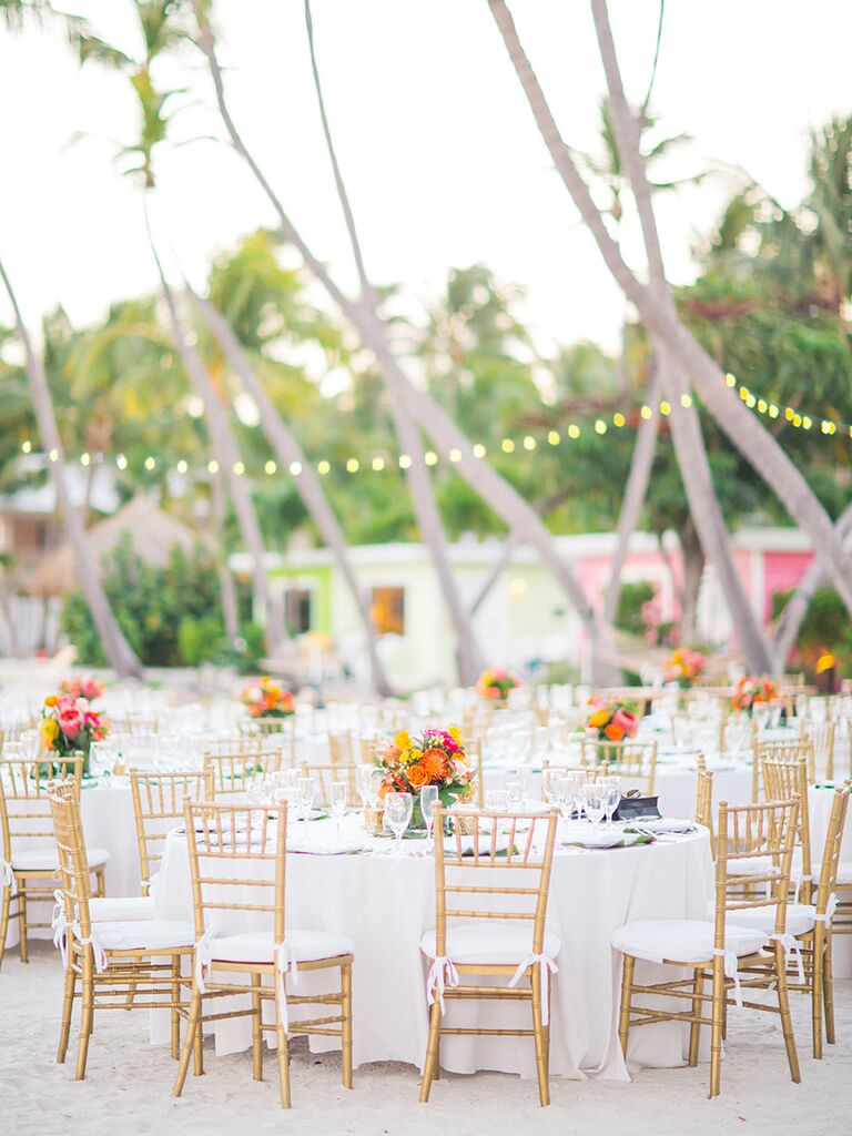 Beach-themed decoration and centerpiece ideas for wedding reception  sc 1 st  The Knot & Beach Wedding Decoration Ideas