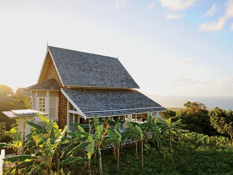 Kittitian Hill Farm honeymoon location