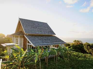 Kittitian Hill Farm honeymoon location