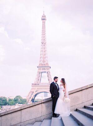 Romantic, Intimate Wedding in Paris