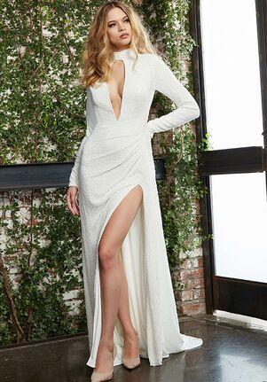 Jovani Bridal S04596 Sheath Wedding Dress