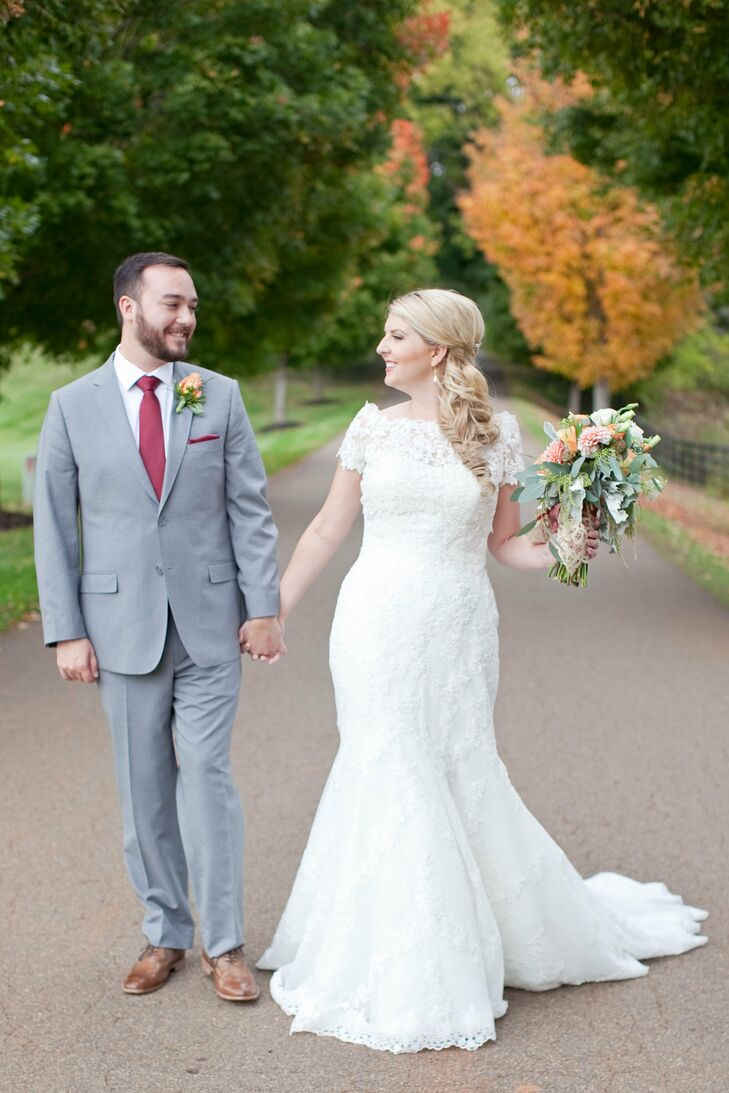 Fall Wedding in Charlottesville, Virginia