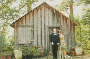 Margaux and Bryan's Nontraditional Garden Wedding