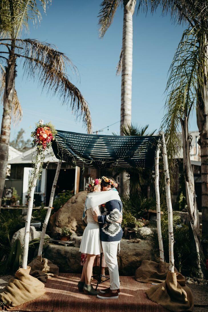 Bohemian Wedding at Caravan Outpost in Ojai, California