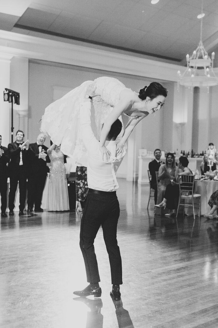 Dirty Dancing-Inspired First Dance at Atlanta History Center in Georgia