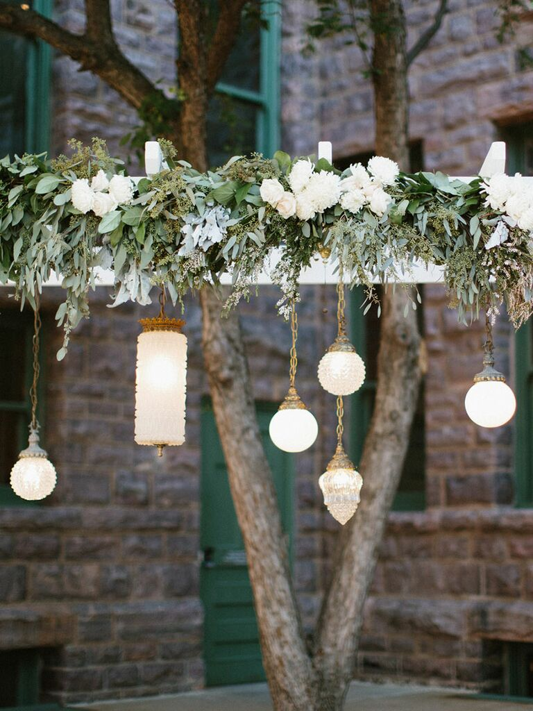 Outdoor hanging lamps vintage