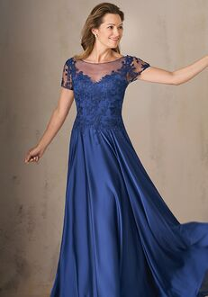 Jade Couture Mother of the Bride by Jasmine K208003 Blue Mother Of The Bride Dress