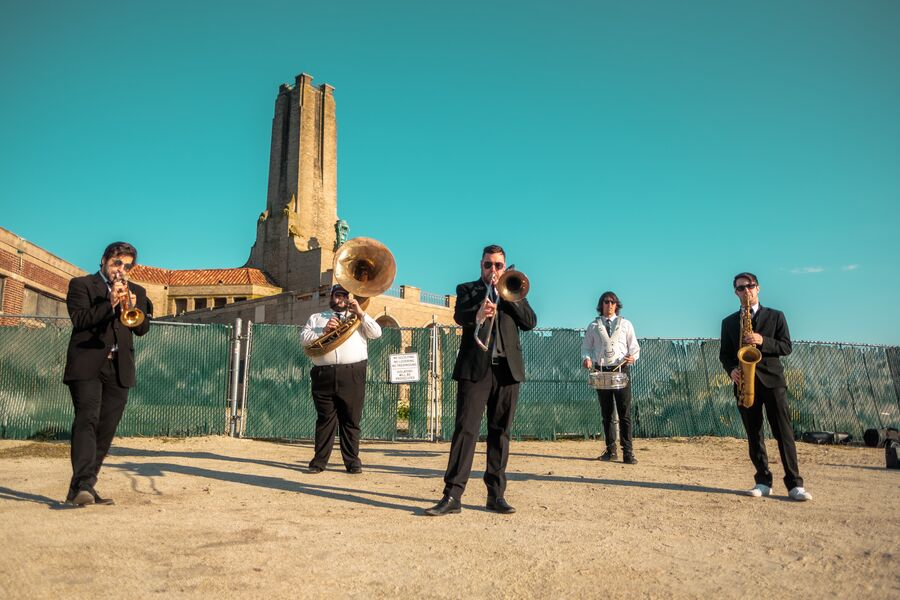 Ocean Avenue Stompers - Brass Band - Asbury Park, NJ