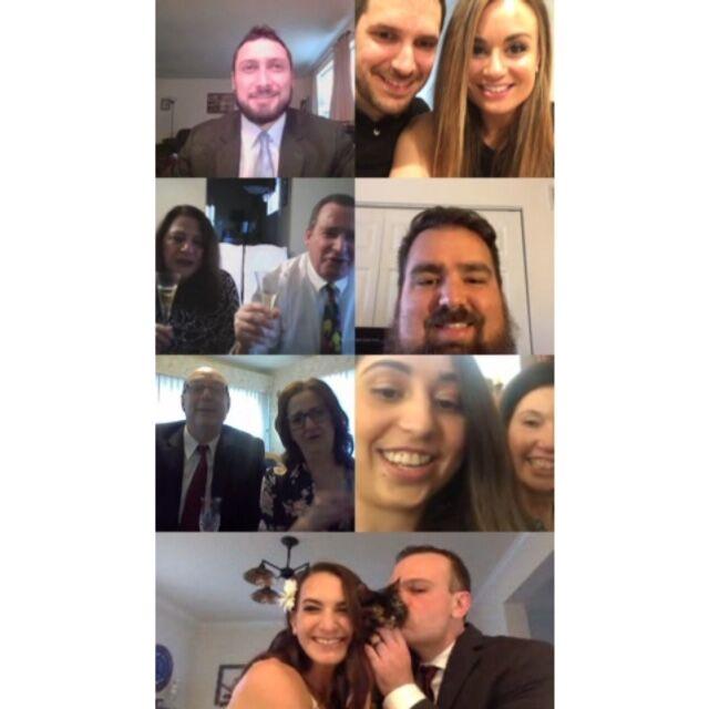 lauren rovinsky wedding covid-19