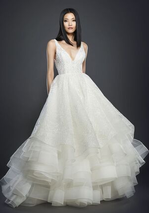 Lazaro 3703 Ball Gown Wedding Dress