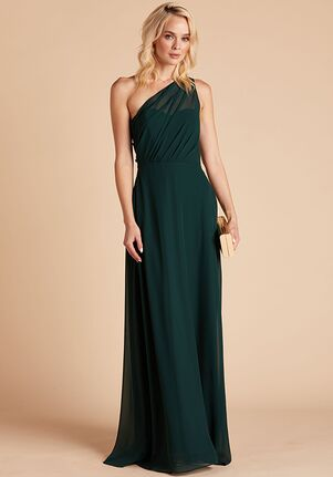 Birdy Grey Kira Dress in Emerald One Shoulder Bridesmaid Dress