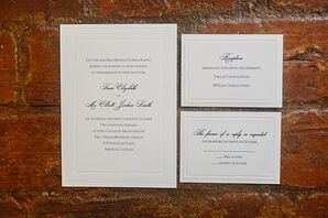 Classic Formal Wedding Invitations