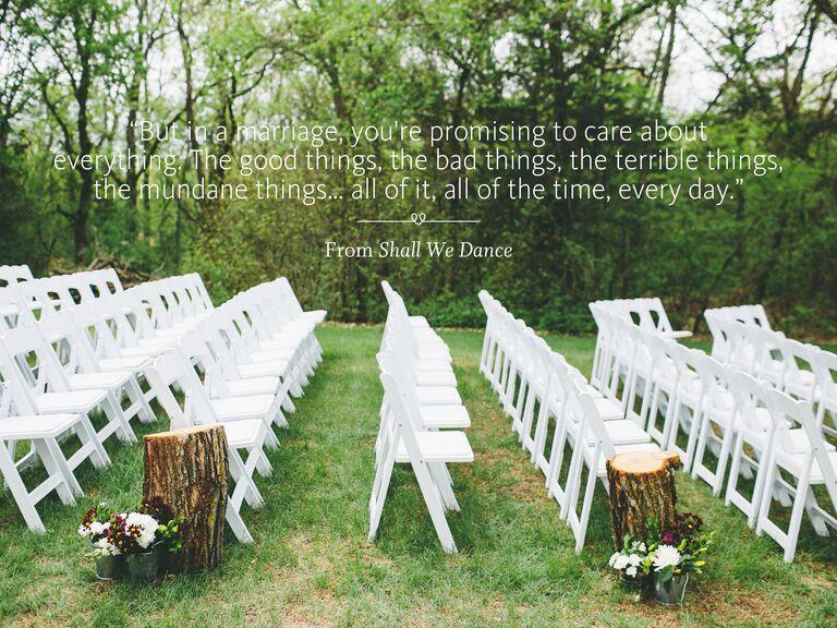 Shall We Dance wedding ceremony reading