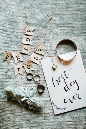 'Best Day Ever' Calligraphy Sign