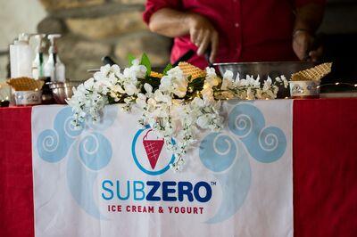 Sub Zero Ice Cream & Yogurt - COOLEST dessert catering!