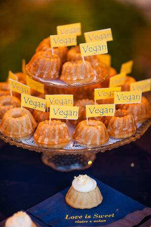Miniature Vegan Bundt Cakes