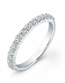 Uneek Fine Jewelry UWB07 White Gold Wedding Ring