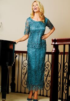 Soulmates C8080 Blue Mother Of The Bride Dress